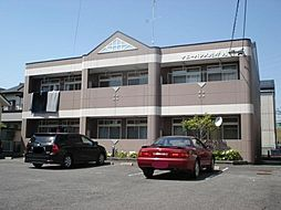 愛知県岡崎市北野町字西山畔の賃貸アパートの外観