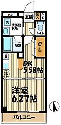 ピュアステージ鎌倉[3階]の間取り