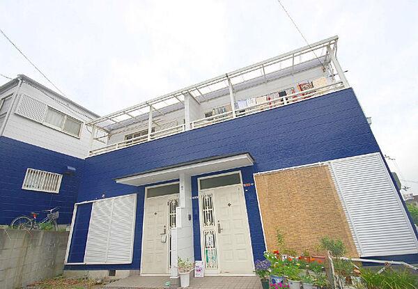 土井ハウス[1階]の外観