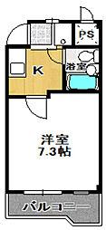 アドバンス・21[207号室]の間取り