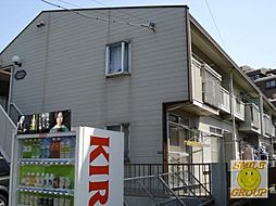 千葉県市川市相之川1丁目の賃貸アパートの外観