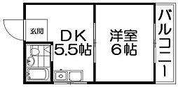 曙マンション[1階]の間取り