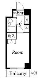 ジョイテル武蔵小杉[3階]の間取り