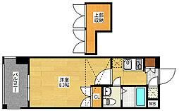 No.60 V-TOWER 天神[5階]の間取り