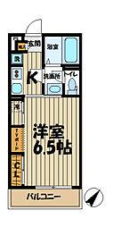 リブリ・湘南大船[1階]の間取り