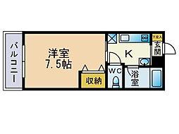 ジョイフル21[305号室]の間取り