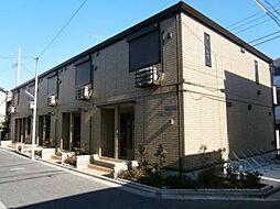 東京都板橋区常盤台1丁目の賃貸アパートの外観