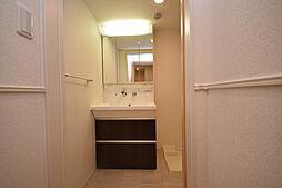 グリーンロード楠葉IIの洗面所