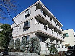 東京都北区浮間4丁目の賃貸アパートの外観
