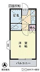 バンコート[2階]の間取り