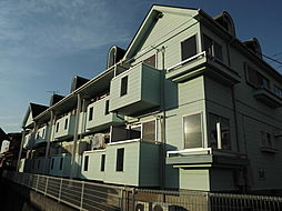 千葉県柏市あけぼの4丁目の賃貸アパートの外観
