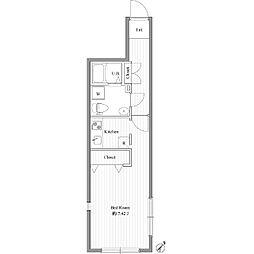 ZESTY大塚[4階]の間取り