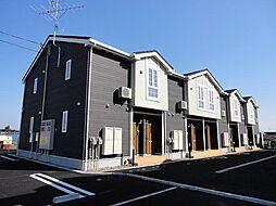 新潟県新潟市南区西萱場の賃貸アパートの外観