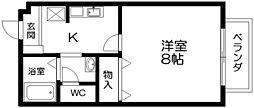 ノース・ヴィレッジI・II[2階]の間取り