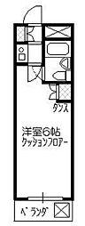 リエス所沢駅南[311号室]の間取り