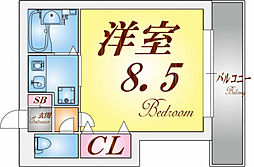 須磨浦SKYハイツ[2階]の間取り