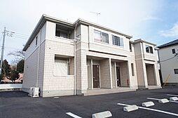 茨城県筑西市門井の賃貸アパートの外観