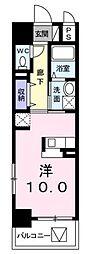 ブライトソレイユタワー[7階]の間取り