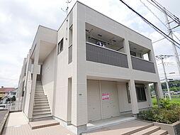 神奈川県厚木市温水西1丁目の賃貸マンションの外観
