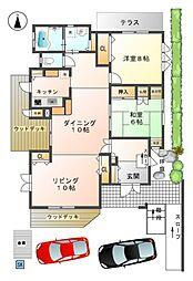 [一戸建] 愛知県豊田市五ケ丘5丁目 の賃貸【/】の間取り
