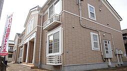 新潟県見附市学校町1丁目の賃貸アパートの外観