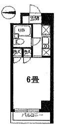 スカイコート世田谷第4[3階]の間取り