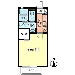 ノーチェ湘南[2階]の間取り