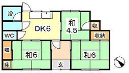 [一戸建] 岡山県倉敷市連島3丁目 の賃貸【/】の間取り