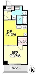 コンフォート関町II[306号室]の間取り画像
