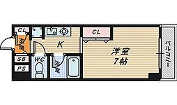 大阪府堺市堺区竜神橋町1丁の賃貸マンションの間取り