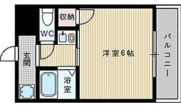 グランフォーレ21[3階]の間取り