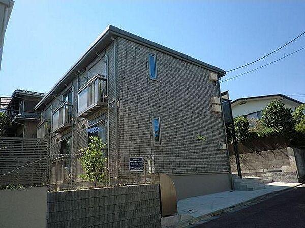 神奈川県川崎市宮前区鷺沼3丁目の賃貸アパートの外観