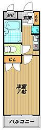 クラブハウス[2階]の間取り