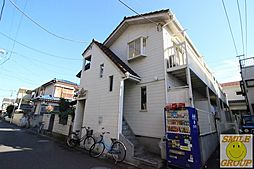 千葉県市川市新浜1丁目の賃貸アパートの外観