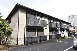 埼玉県さいたま市中央区上落合5丁目の賃貸アパートの外観