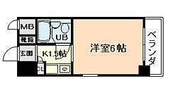 グローバル野田[7階]の間取り