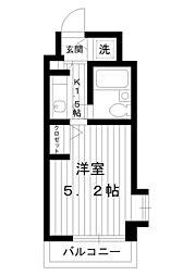 東京都練馬区豊玉上2丁目の賃貸マンションの間取り