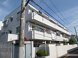埼玉県所沢市美原町3丁目の賃貸マンションの外観