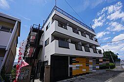 神奈川県海老名市中新田4丁目の賃貸マンションの外観