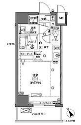 ZOOM横浜[4階]の間取り