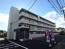 栃木県宇都宮市江曽島本町の賃貸マンションの外観