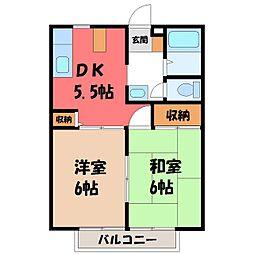 サンライフパートII[1階]の間取り