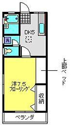 プレジオNAKADA[1階]の間取り