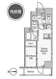 レジディア御茶ノ水III[2階]の間取り