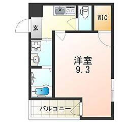 JR片町線(学研都市線) 徳庵駅 徒歩9分の賃貸アパート 1階1Kの間取り