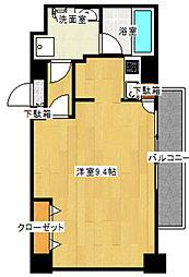 ラ・グートヴェールト[4階]の間取り