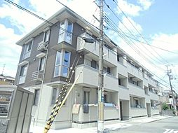 大阪府豊中市岡町南3丁目の賃貸アパートの外観