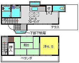 [一戸建] 神奈川県横浜市南区別所5丁目 の賃貸【/】の間取り