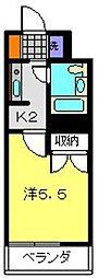 トップ鶴ヶ峰第三[117号室]の間取り