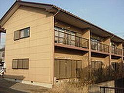 栃木県真岡市高勢町2丁目の賃貸アパートの外観